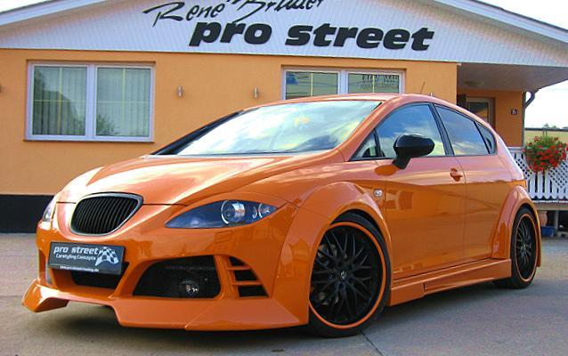 street stylz wide bodykit seat leon 1p facelift. Black Bedroom Furniture Sets. Home Design Ideas
