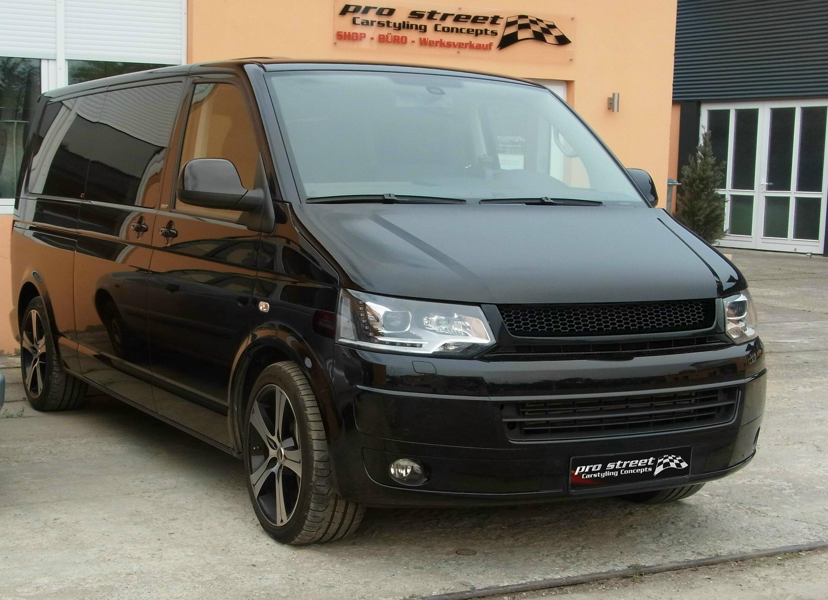 frontgrill vw t5 facelift jetzt kaufen bei pro street. Black Bedroom Furniture Sets. Home Design Ideas