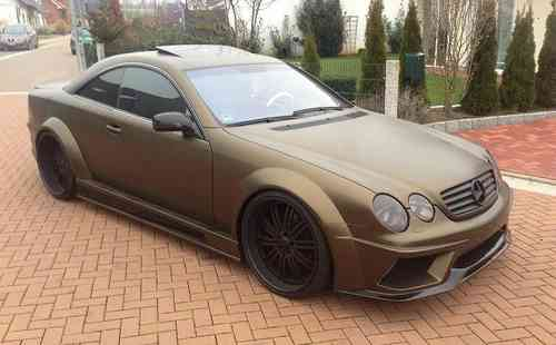 """GT-W600"" Wide Bodykit - Mercedes Benz CL"