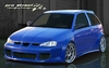 """Streetfighter"" Wide Bodykit Seat Ibiza"