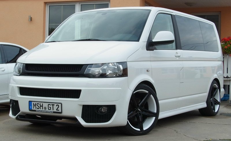 full Bodykit VW T5 Facelift - pro street - Carstyling Concepts